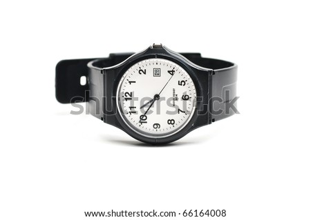 This is a Wristwatch in isolated shot - stock photo