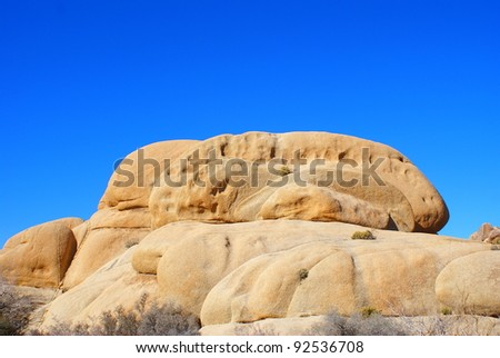 This is from Joshua Tree National Park in California.