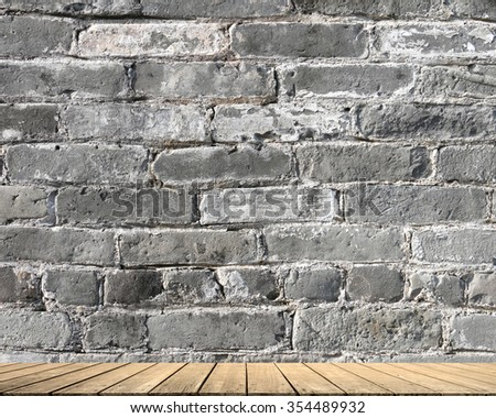 this is Gray brick. limestone cement wallpaper  with aged tiles floor pure brickwork concrete wall vintage slate stucco backdrop advertise products on display pattern structure product facade rustic