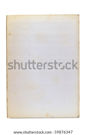 This is Paper page it very old - stock photo
