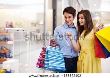 This is the same shoes! - stock photo