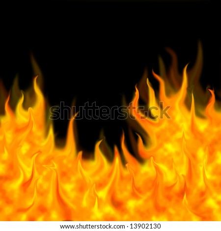 this picture is about yellow fire