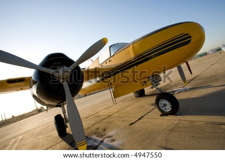 This twin engined airplane started life during World War II as the Douglas A-26C Invader and later fought forest fires