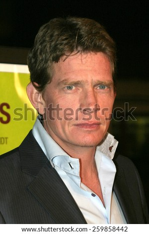 """Thomas Haden Church at the """"Sideways"""" Los Angeles Premiere held at the Academy of Motion Pictures Arts and Sciences in Beverly Hills, California United States on October 12 2004. - stock photo"""