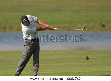 Thomas Levet (FRA), world golf championship 2005 , Vilamoura, Millenium course, Portugal,