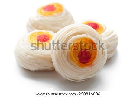 Thousand layers mooncakes - stock photo
