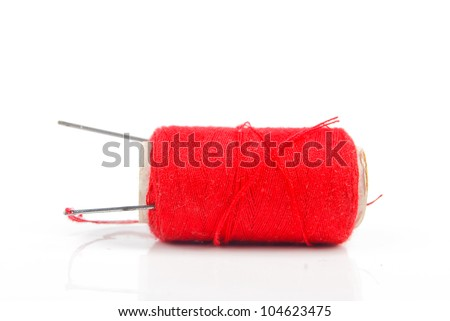 Thread with needle