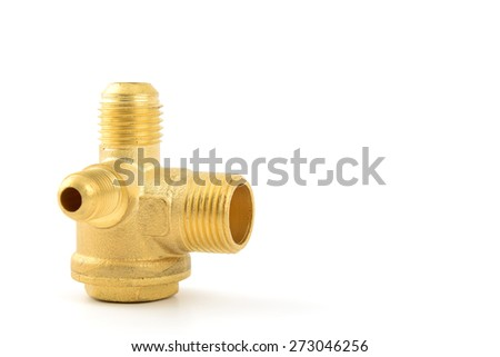 Threaded Copper pipe fitting