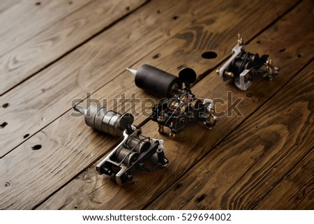 Stock images royalty free images vectors shutterstock for Professional tattoo guns