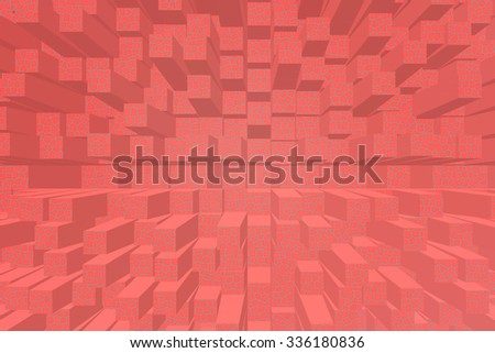 Three-dimensional image - stock photo