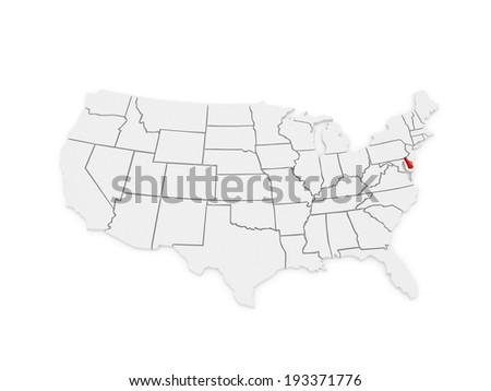 Delaware Map Stock Images RoyaltyFree Images Vectors - Delaware map usa