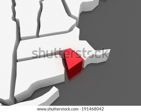 Rhode Island Map Stock Images RoyaltyFree Images Vectors - Road island usa map