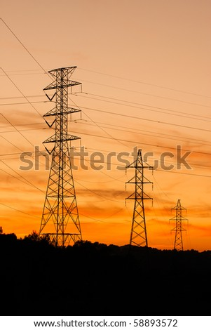 three power-lines