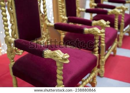 throne - stock photo