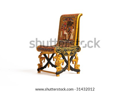 throne - stock photo