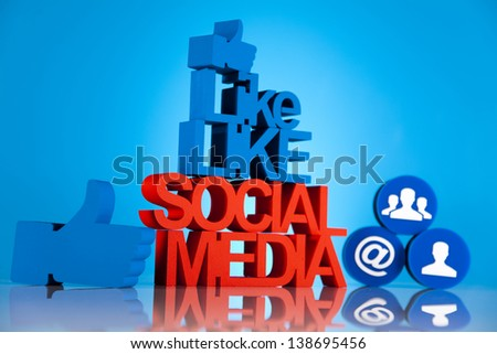 Thumbs up symbol, Social media