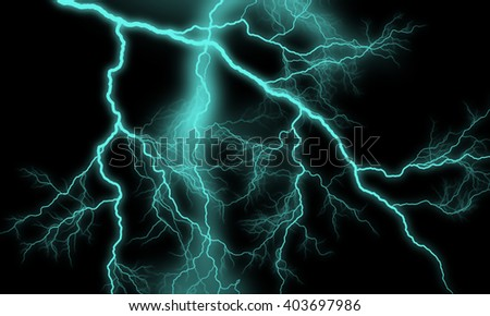Thunder background