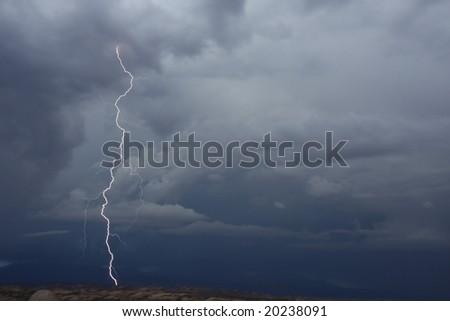 thunderbolt - stock photo