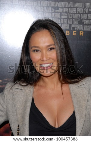 "Tia Carrere at ""The Fighter"" Los Angeles Premiere, Chinese Theater, Hollywood, CA. 12-06-10"