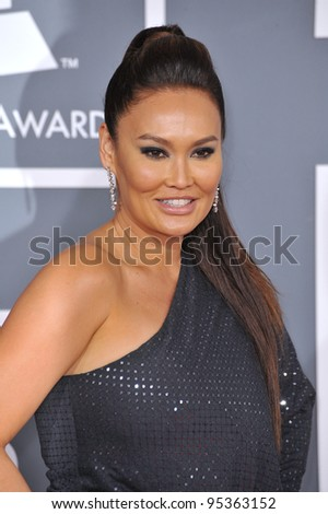 Tia Carrere at the 54th Annual Grammy Awards at the Staples Centre, Los Angeles. February 12, 2012  Los Angeles, CA Picture: Paul Smith / Featureflash