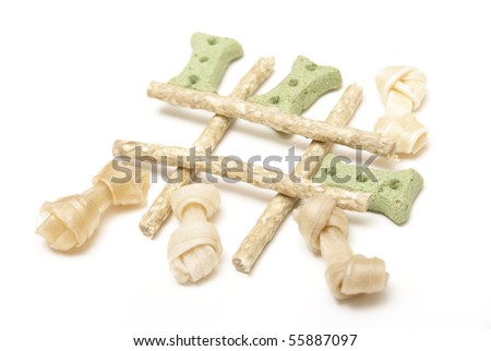 Tic Tac Bone - stock photo