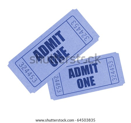 Tickets - stock photo