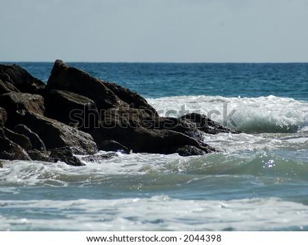 Tidal Pools at Laguna Beach, CA - stock photo
