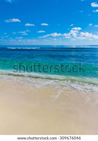 Tide Sea Scene  - stock photo