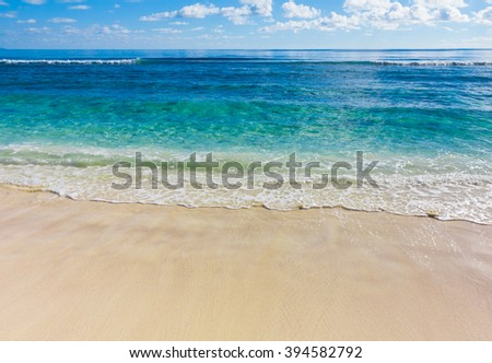 Tide Waves Sea  - stock photo