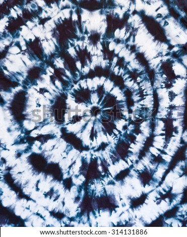 Tie Dye Abstract Design - stock photo