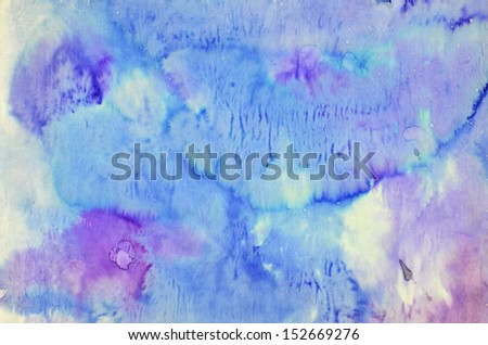 tie dye paper - stock photo