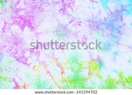 tie dyed pattern for background.  - stock photo