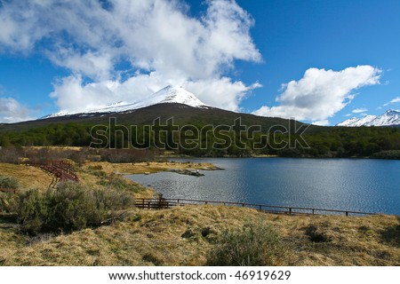 Tierra del Fuego National Park - stock photo