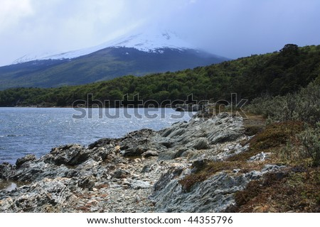 tierra del fuego national park(Argentina) - stock photo
