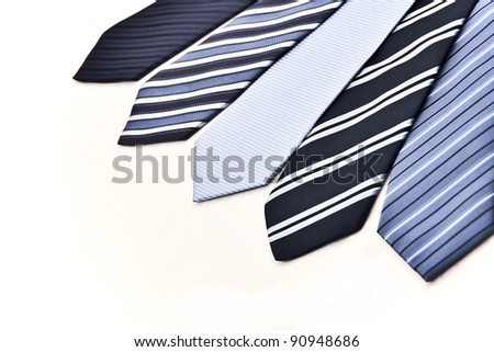 ties - stock photo