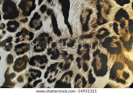 tiger fabric 2 - stock photo