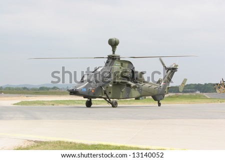 Tiger Helicopter - stock photo