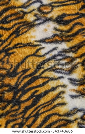 Tiger patterned background
