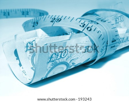 Tightening the budget - stock photo