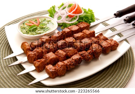 Tikka Boti-7 - stock photo