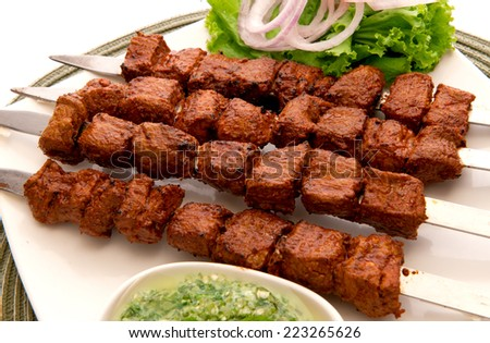 Tikka Boti-6 - stock photo