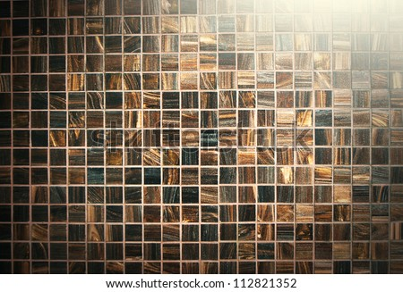 tile background brown texture pattern light for design - stock photo