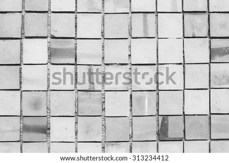 tile concrete square background and texture  - stock photo