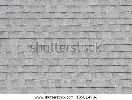 tile on the roof - stock photo
