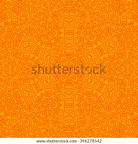 Tile. Pattern from ornamental elements. Oriental Pattern Design. Can be used for wallpaper, pattern fills, web page background,surface textures. - stock photo