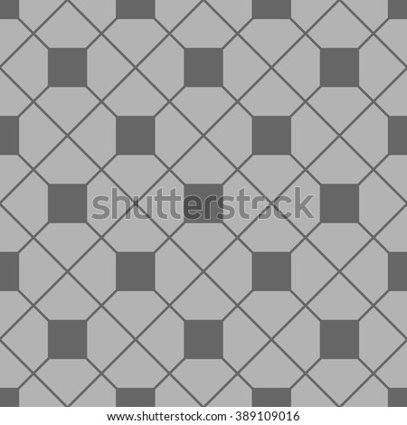 Tile pattern with grey and black floor background for decoration wallpaper - stock photo