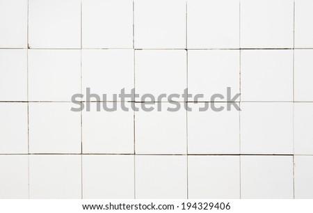 Tile wall  - stock photo