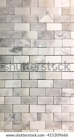 tile wall background - stock photo