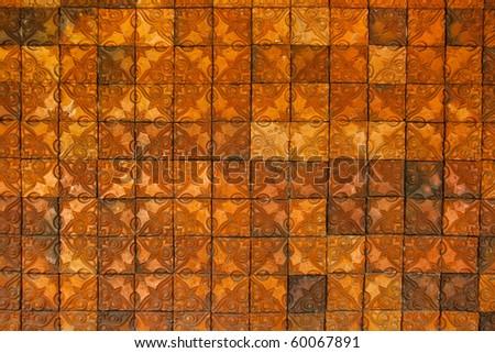 tile wall texture - stock photo