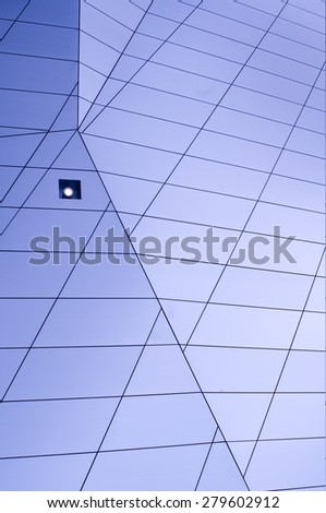 Tiled Room - stock photo